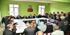 Vali Gürel, Kışla Köyünde Vatandaşların Sorunlarını Dinledi