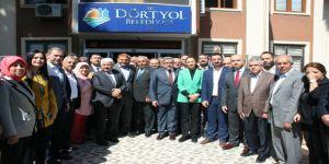 Ak Parti Hatay Milletvekilleri Dörtyol Belediyesini Ziyaret Etti