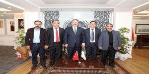 """Başkan Dr. Mustafa Palancıoğlu """"Özellikle Sivil Toplum Kuruluşlarının Ziyaretleri Çalışmalara Şevk Ve Heyecan Katmaktadır """""""