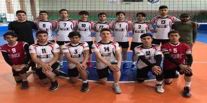 Sahabiyespor Voleybol Erkeklerde Yarı Finalde