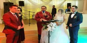 Erdoğan ilk nikahını kıydı