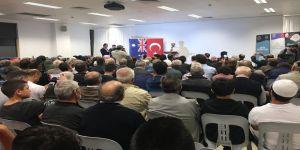 Diyanet İşleri Başkanı Erbaş, gurbetçiler ile bir araya geldi