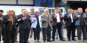 Başkan Köse, Esnaf Duası İle Çalışmalarına Başladı