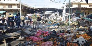 Hayvan pazarına terör saldırısı