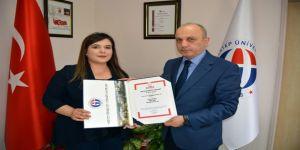 Öğretim görevlisi Çopuroğlu'nun başarısı