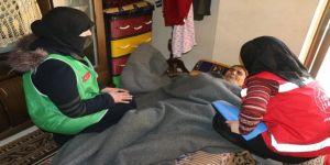 Afrin'deki engellilere yardım