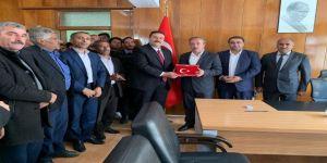 Bahçesaray Belediye Başkanı Arvas, Göreve Başladı