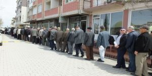 İsmail Coşar, Burhaniye'de mevlit okudu