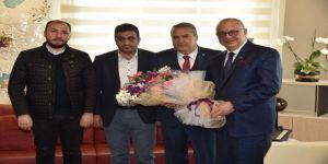 Başkan Ergün, Başkan Çerçi'yi Ağırladı