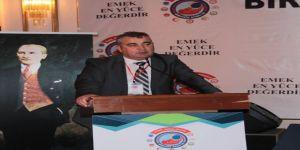 """Eğitim-iş Kırşehir Şube Başkanı Akça, """"Cumhuriyeti Kuranlar Köy Enstitüleri Modelini Oluşturdu"""""""
