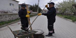 Şuhut'ta Baca Ve Kanalizasyon Hattı Temizleme Çalışmalarına Başladı