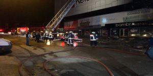 Mobilya mağazası yandı