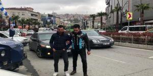 "İstanbul'da Asker Konvoyunda ""Drift"" Yapan Maganda Yakalandı"