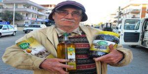 Kendi ürettiği zeytin ve zeytinyağına patent aldı