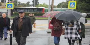 Samsun'da Nisan Yağmurları