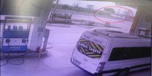 34 Kişinin Yaralandığı Otobüs Kazası Güvenlik Kamerasında