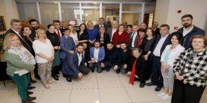 CHP ve İYİ Parti'den Taşdelen'e kutlama ziyareti
