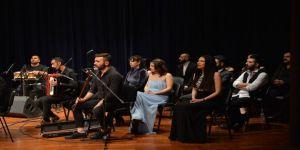 Hangimiz Sevmedik Türk Halk Müziği Konseri Saü'de Düzenlendi