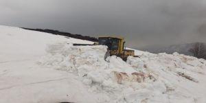 Karlıova'da Çığ, Yedisu'da Karla Mücadele