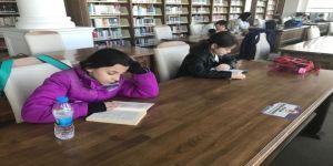 ÇOMÜ Kütüphanesi öğrencilerin ilgi odağı