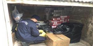 Kocaeli'de 11 Bin 250 Paket Kaçak Sigara Ele Geçirildi
