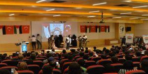 Saü'de Filistinli Öğrencilerden Kudüs Etkinliği