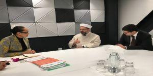 Diyanet İşleri Başkanı Erbaş, Yeni Zelanda Etnik Topluluklar Bakanı İle Görüştü