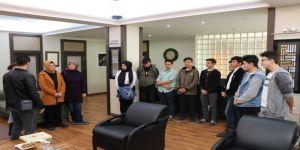 Başkan Elif Köse Öğrencileri Ağırladı