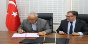 Hacılar'da 18 Derslikli Ortaokul Protokolü İmzalandı
