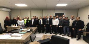 Başkan Yardımcısı Kasapoğlu, Personel İle Yakından İlgileniyor