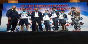 Avrupa Kick Boks Kupasında Termalspor Rüzgarı