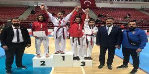 Taekwondo Yıldızlar Türkiye Birinciliği Müsabakalarına Kayserili Sporcular Damga Vurdu