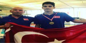 Kayseri'nin Rekortmen Çocuğu Yiğit Aslan Avusturya'da Tarih Yazdı