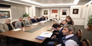 """Mustafa Palancıoğlu, """"Ulaşım, Fen Ve Park Bahçeler Birimleri İle Planlama Ve Koordinasyon Toplantısı Yapıldı"""""""