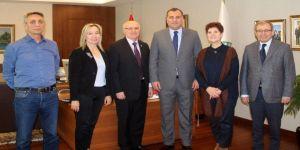 Kafkas Derneklerinden Başkan Taşdelen'e Tebrik Ziyareti