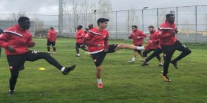 Elazığspor'da Osmanlıspor maçı hazırlıkları