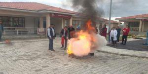 Temel Afet Bilinci Ve Yangın Eğitimleri Devam Ediyor