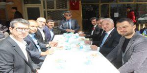 Başkan Bilgin Esnafların Pilav Hayrına Katıldı