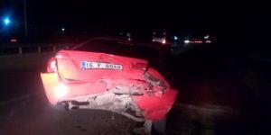 64 Yaşındaki Sürücü Kazada Yaralandı