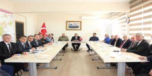 Çerkezköy'de Güvenlik Toplantısı Yapıldı