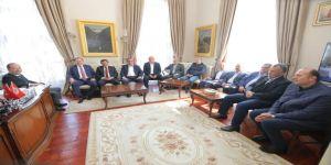 Edirne Ticaret Borsası'ndan belediye başkanlarına ziyaret