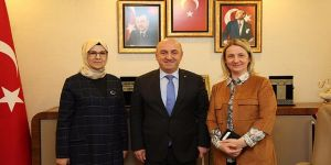 Zeybek ve Katırcıoğlu'ndan, Bıyık'a ziyaret