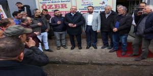 Başkan Kavuş, Sanayi Esnafıyla Bir Araya Geldi
