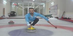 Milli Sporcular Körling Salonunda Çalışmalar Yaptı