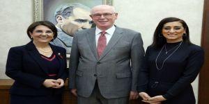 Chp Pm Üyesi Usluer Ve Eski İl Başkanı Akman'dan Başkan Kurt'a Ziyaret