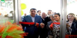Gürkan Cafe Açılışına Katıldı