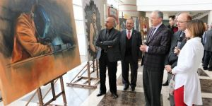 """Kto Karatay'da """"Mesleki Eğitimde Sanat Rüzgarı"""" Sergisi"""