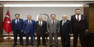 Başkan Büyükkılıç'a Ziyaretler Sürüyor