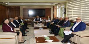 Manisa Tso'dan Başkan Çerçi'ye Tebrik Ziyareti