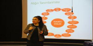 Kartal Belediyesi'nden İdarecilere Çevre Bilinci Ve Sıfır Atık Eğitimi